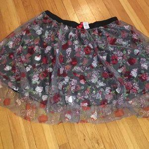 BNWT Hello Kitty layered skirt!